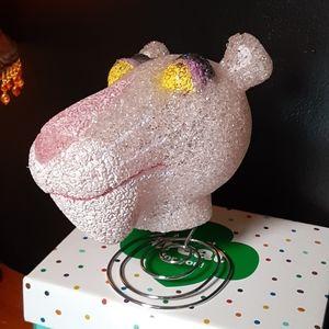 Vintage pink panther head